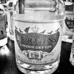 Six Ravens London Dry Gin Black & White