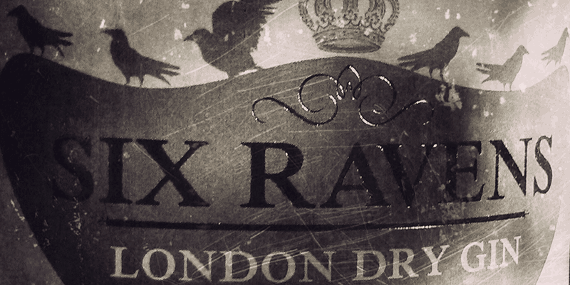 Die Legende des Six Ravens London Dry Gin
